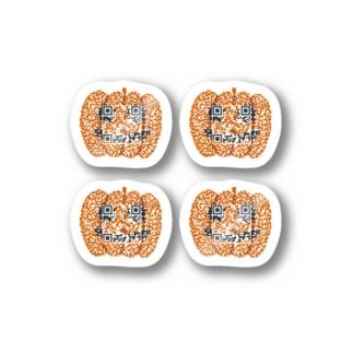 ハロウィンかぼちゃのステッカー Stickers