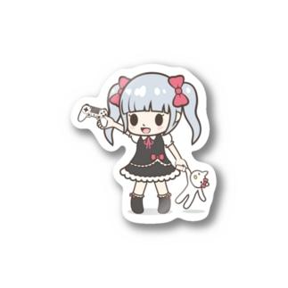 ゲームみこと Stickers