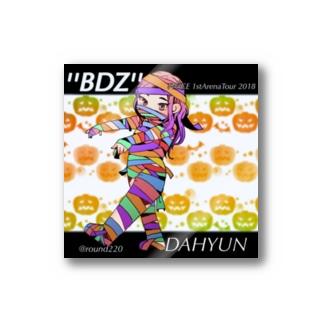 ''BDZ''Dahyunステッカー Stickers