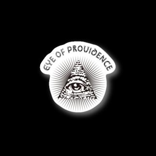 提供 tshopのプロビデンスの目 Stickers
