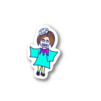 レンコンちゃん Stickers