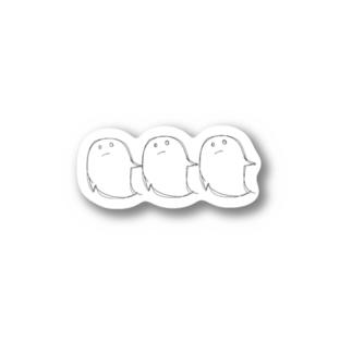 ゴーストトリオ Stickers