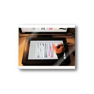 tabletstylusのXP-Pen 液タブ 液晶ペンタブレット 15.6インチ バッテリフリースタイラス フルHD 筆圧8192レベル 6個エクスプレキー Artist 15.6 Stickers