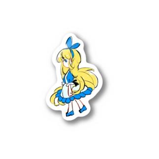 アリス Stickers