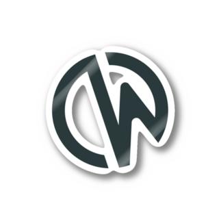 Crowi Logo Stickers