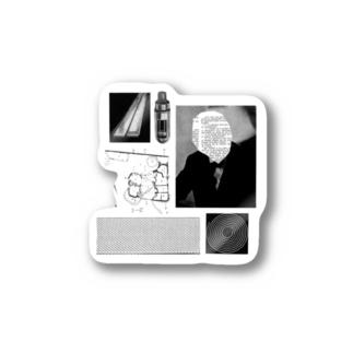 BRAIN COLLAGE Stickers
