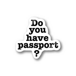 パスポートは Stickers