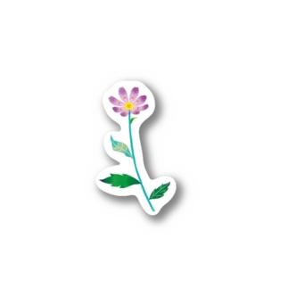ミヤコワスレ Stickers