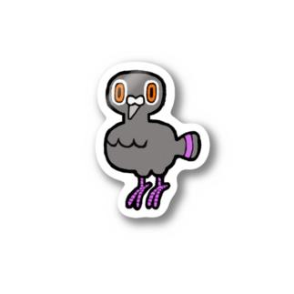 あの時の鳩 Stickers