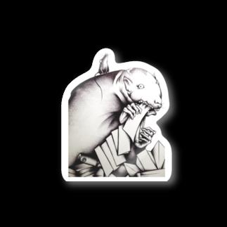 MAYUGENEKOpresentsの鉄鼠 Stickers