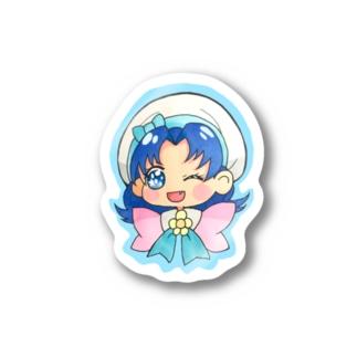 葵ちゃんステッカー Stickers