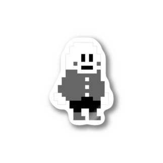 モノクロ Stickers