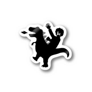昨日の恐竜ジョッキー Stickers