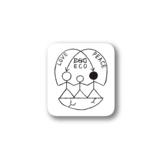 HUMANed Stickers