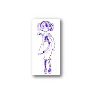 ついんてきゅーとちゃん Stickers