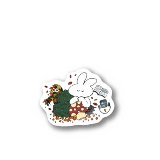 11月をエモるきくらげちゃん Stickers