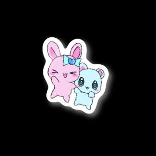 つよきで!(笑)秋葉原本部の女児みシール:なかよち! Stickers