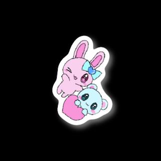つよきで!(笑)秋葉原本部の女児みシール:だいしゅき! Stickers