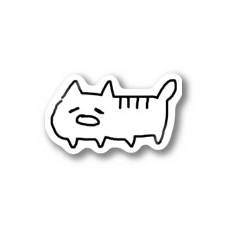 へたねこさん Stickers