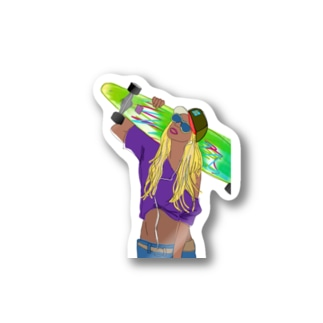 sk8er☆GIRL Lisa Stickers