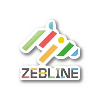 ZEBLINEデザインA Stickers