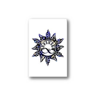 sunロゴ Stickers