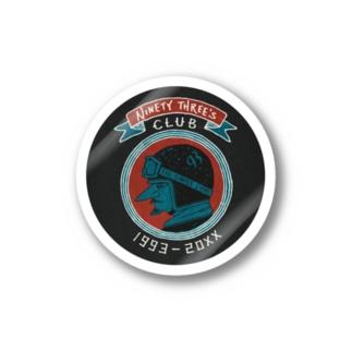 93's CLUB ステッカー