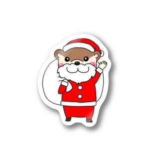 サンタクロースカワウソ Stickers