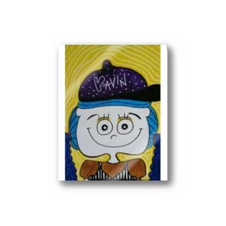 KAViN︰豪雨だって快晴に究極の晴れ女 Stickers