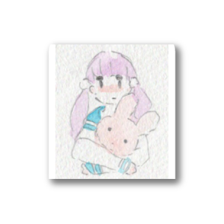 (まみむめ)大森靖子のうさぎとおんなのこ Stickers