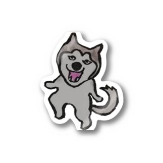 ハスキー犬ゆきちゃん Stickers