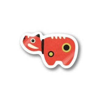 赤べこ Stickers