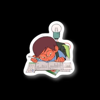 エグチのヒラメキ Stickers