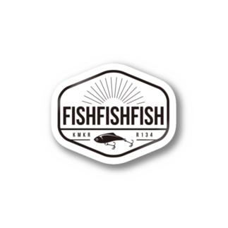 FISHFISHFISH Stickers