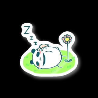 ハネコハネのまるコロうさぱんシリーズ[5] Stickers