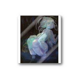 鍾乳洞の妖精 Stickers