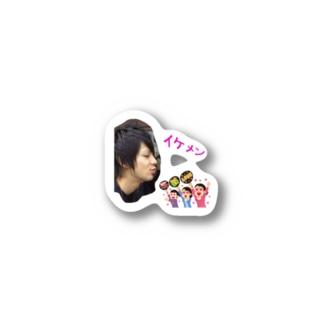 ともさん昇進記念ステッカーB Stickers