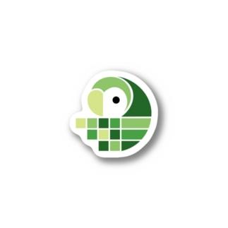Pixela Bird Sticker - Color ステッカー