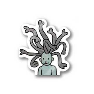 メデューサさん Stickers