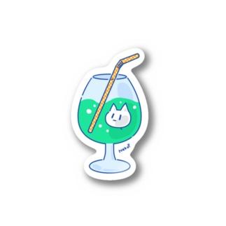 NekoP - じゅーす Stickers