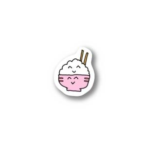 ニコニコごはんちゃん Stickers
