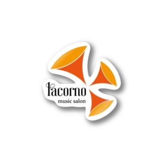 ラコルノミュージックサロン Stickers