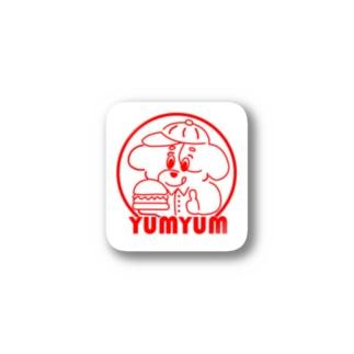 バーガーショップヤムヤム Stickers