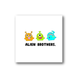 ALIEN BROTHERS. Stickers