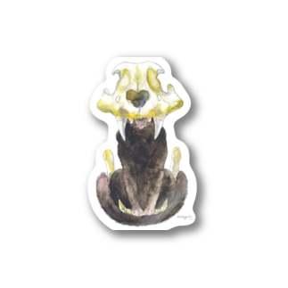 Lion head Stickers