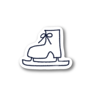 スケート靴 Stickers