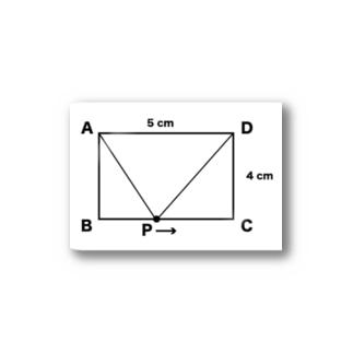 数学 動く点P Stickers