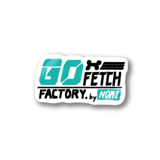 GO FETCH STICKER Stickers