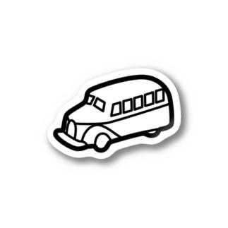 retro-Bus Stickers