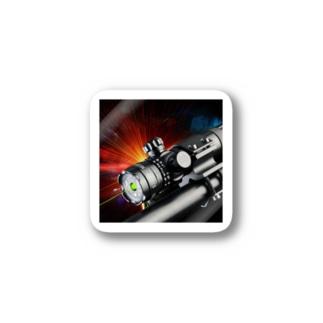 Mire laser pour carabine lampe laser fusil Stickers